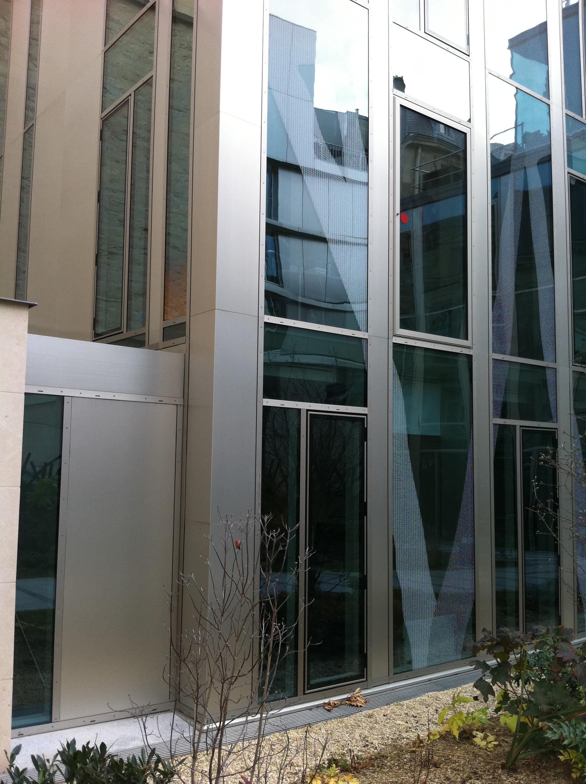 Murs rideaux - J2M Entreprise